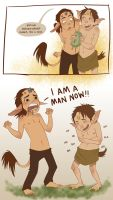 You're A Man Now by conniiption