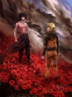 Naruto - Because we're friends by Futago-KawaiI