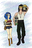 Gajevy collab by Firefairy001