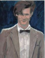 Matt Smith as the Doctor by neilpalf