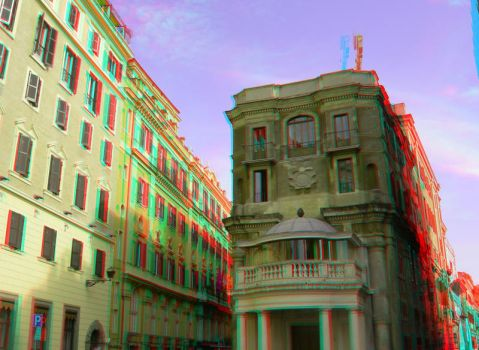 Rome 11 3D Anaglyph by yellowishhaze