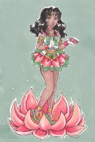 Sailor Flower Lotus for Nemesis12 by nickyflamingo