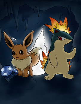Explorers of caves by AtomicClaw