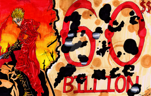 60,000,000,000$$ Man by Archaois