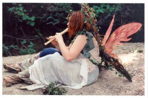 Musical Woodland Faerie by SwordOfScotland