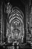 Old photo about Stephansdom BW by Seth890603