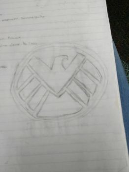 The SHIELD logo by mad4dragons