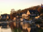 The Wonderful Boathouse Row by LadyMao