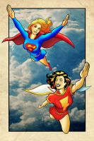 Supes and MM by jamesabels