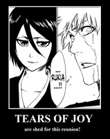 Bleach Motivational Poster by darktsukikat