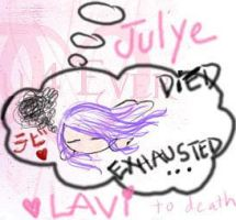 Exhausted meh by Julye-chan