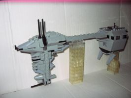 Lego Rebel Cruiser by weirdnwild91
