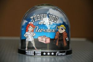 Fallout Snowglobe - Thank you nurses! by iSeptem
