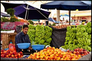The Fruit Man by Dezaster3