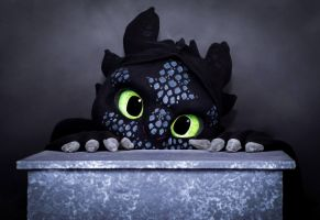 Toothless Suit. Look Into My Eyes, What Do You See by TheBandicoot