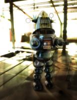 Robot in the Attic by SalvidorMonkey