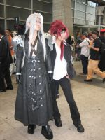 Sephiroth and Rude by severance26