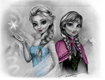 Frozen Christmas Card by pat-mcmichael