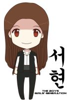 SNSD SeoHyun The Boys Chibi Doll by jinsuke04