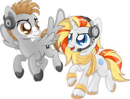 Request: OC Kaiser Trot and Digi Wire by SkunkDJ