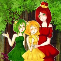 AT - The Apple Sisters by RingoTeam