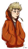 little boy orange by desthpicable