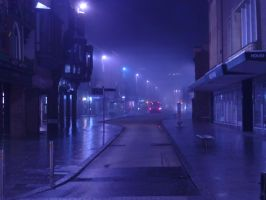 Exeter at Night: 4 by yaschaeffer