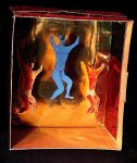 Diorama Box Dancers by mertonparrish