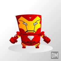 Iron Man Civil War by DanielMead