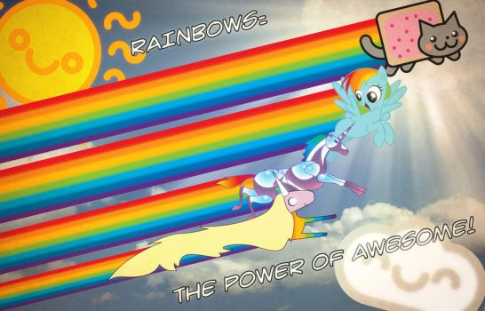 RAINBOWS: THE POWER OF AWESOME! by Roystonavitch