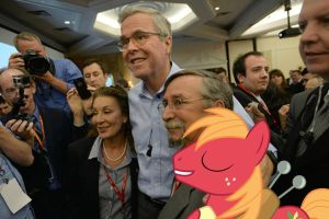 Big Mac, Jeb Bush by RicRobinCagnaan