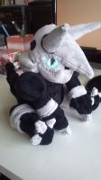 Aggron plush by LRK-Creations