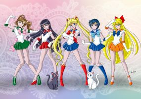 Sailor Moon by Anart by anapaulabp