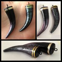 Character-themed Claw/Nail Pendants by LuxDani