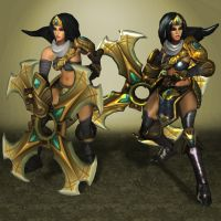 League of Legends Sivir NEW by ArmachamCorp