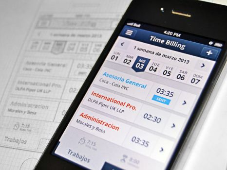 iOS app for a billing by inthel07