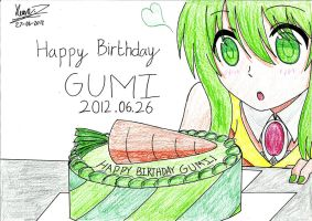 Happy Birthday Gumi! by keenan905