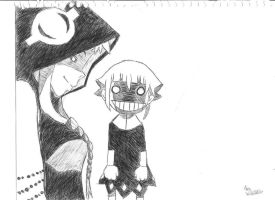 Crona and Medusa by TheSuperSonicClubArt
