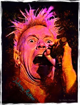 Johnny Rotten by Chrisdesign