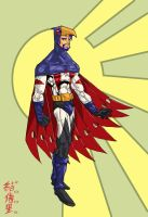 falcon man version2 by WOLVERINE76