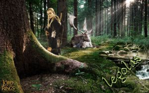 WALPPEPER - Legolas by Just-ange-L