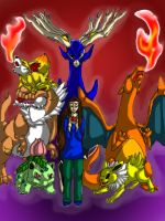 My Pokemon X Team by TheDragonInTheCenter