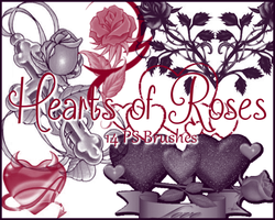 PS Hearts of Roses by Illyera