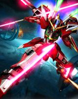 ZGMF-x19A Infinite Justice Gundam [Custom Color] by Chaos217