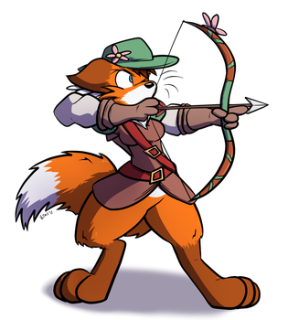 Adventurer Vixen Chase by Virmir