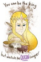 Zelda: Watch the Queen Conquer by They-Are-Not-Stars