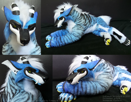 Custom Poseable Artdoll Commission: Vehnny by gebrek
