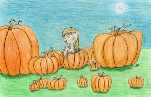 Derpy's Pumpkins by SeptilSix