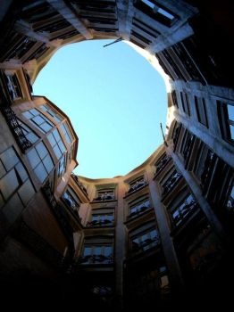New perspective of Pedrera by FunnyPoison