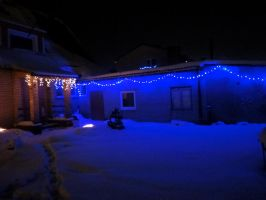 Our front yard ^^ by Tigrite